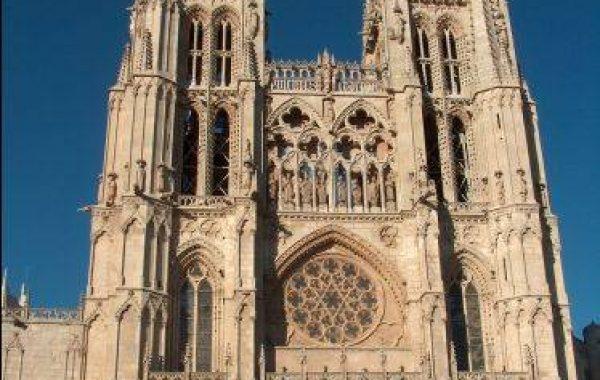 Westfassade der Kathedrale von Burgos