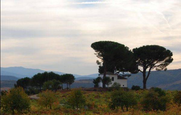 einsames Haus vor Villafranca del Bierzo